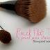 Experimentei: Pincel flat top e pincel para côncavo da Flash Make Up