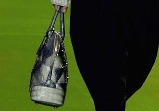 9. Marc Jacobs Carolyn Crocodile Handbag