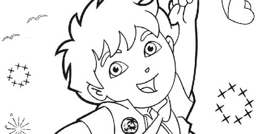 diego easter coloring pages - photo#22