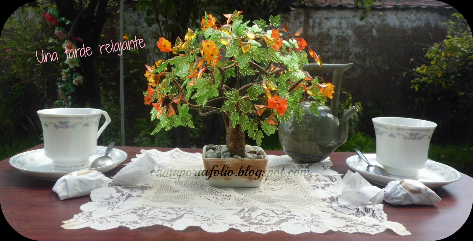 El portafolio de edma t con el bonsai de la alegr a - Mesas para bonsai ...