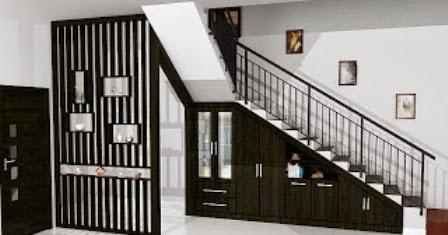 desain tangga rumah minimalis 2 lantai desain model gambar