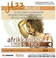 Afrikkanitha vai estar esta sexta-feira no Espaço Baía