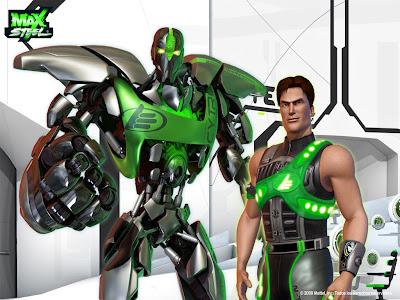 Max Steel – Lutadores Holo