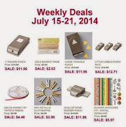 Items on Sale! July 15 to 21