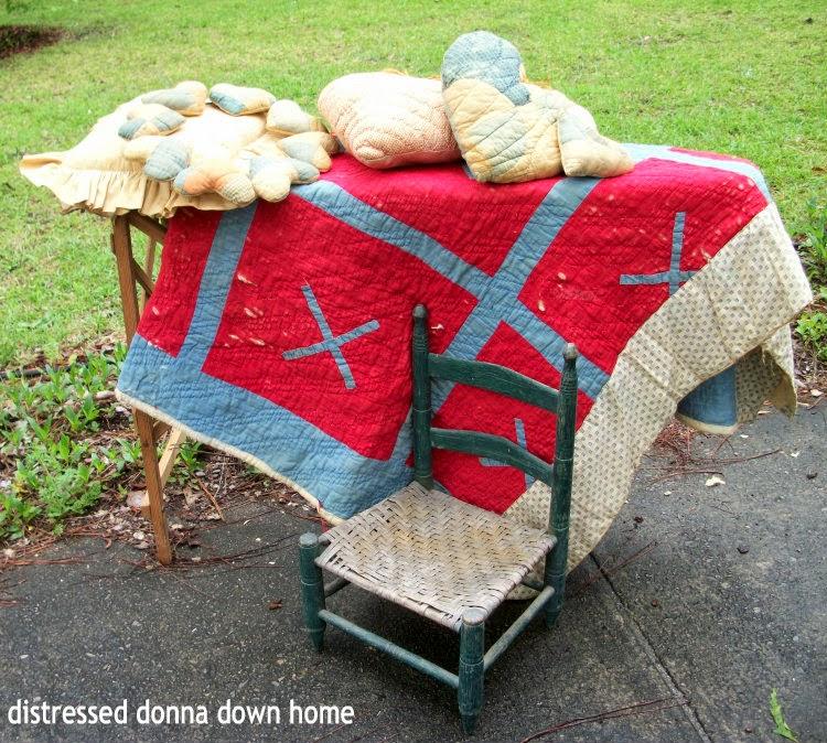 church sales, Vintage South, Antiques and Artisans Village, quilts, vintage finds