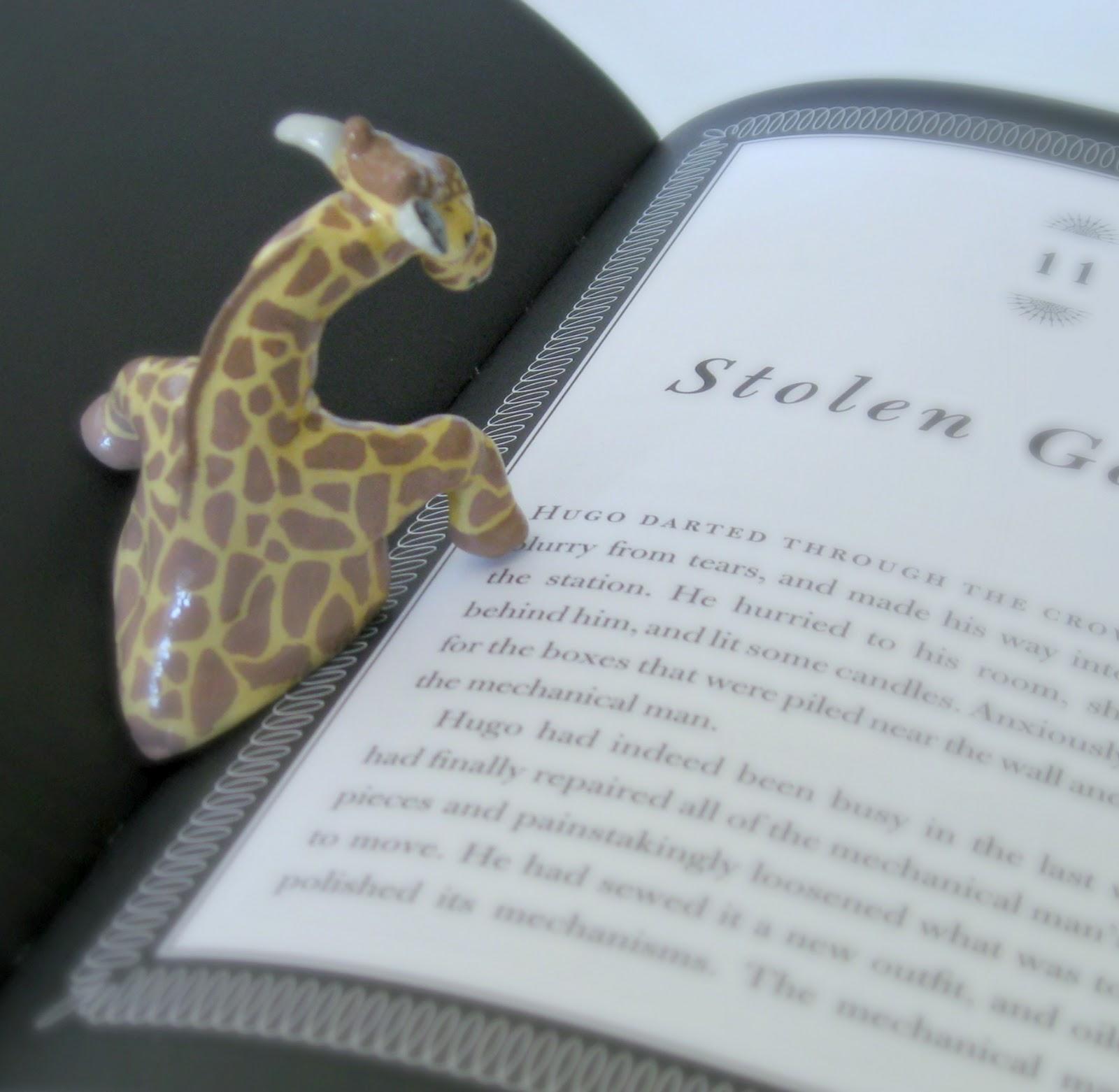 the dapper toad giraffe book page holder