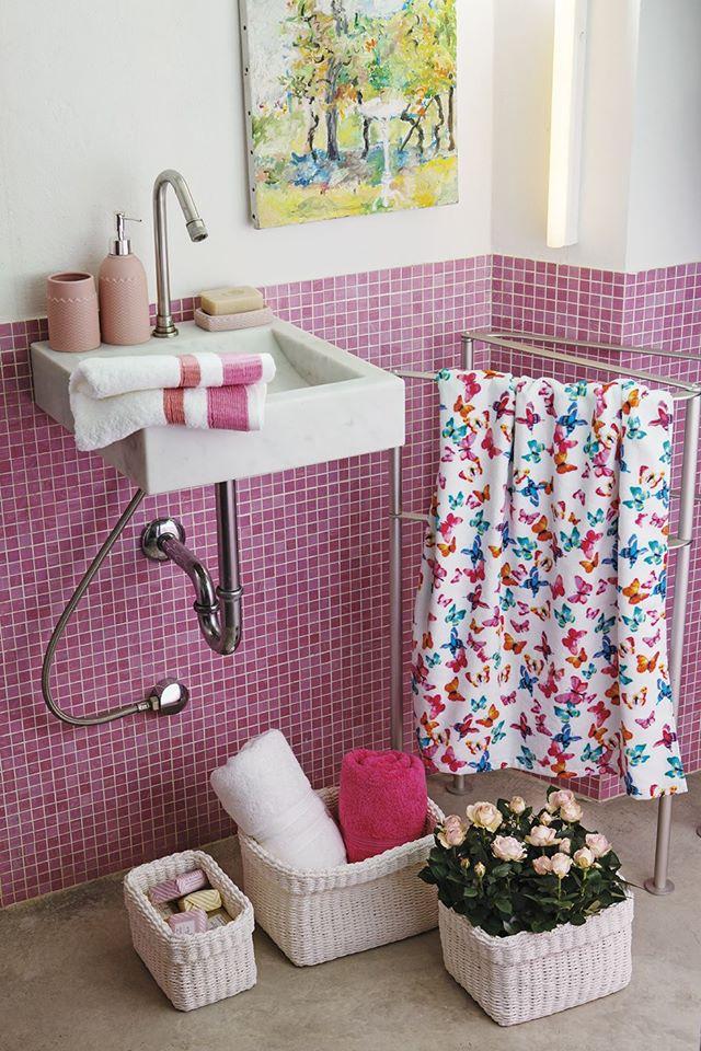 coin casa bagno rosa