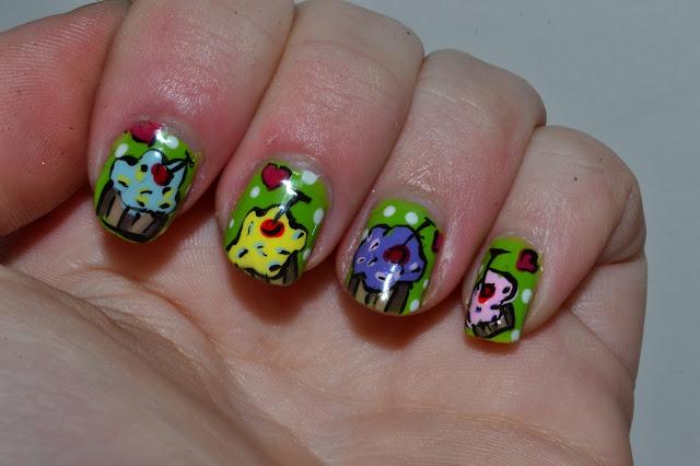 Cupcake Nails by Elins Nails