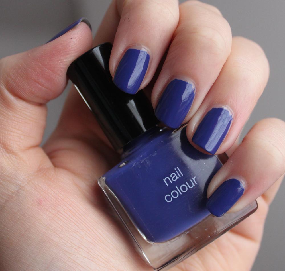 Blue Nail Varnish Uk: M&S Nail Polish- Blue
