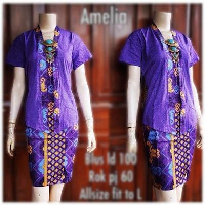 Kebaya Batik Amelia KBW 284