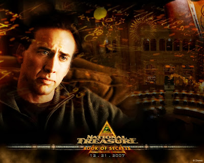 National Treasure (released in 2004) - Starring Nicholas Cage, Jon Voight, and Diane Krueger