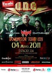 U.D.O EN CHILE 2011