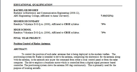 general resume electronic resume electronic engineer resume format - Electronic Resume
