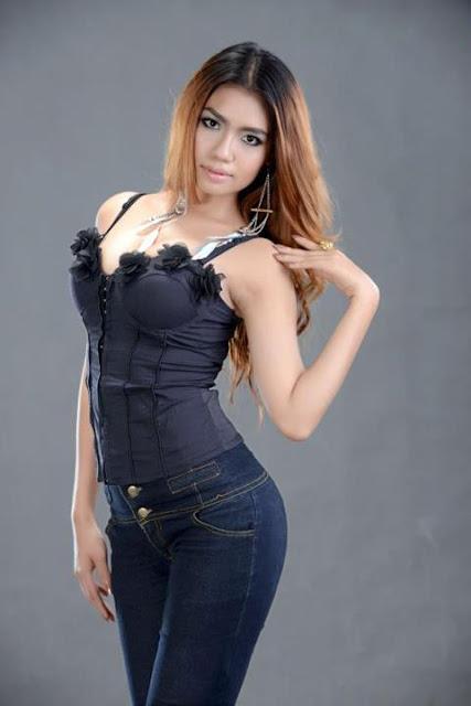 baby maung, myanmar sexy girl