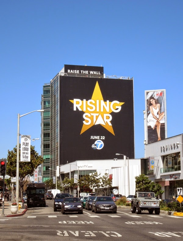 Giant Rising Star billboard