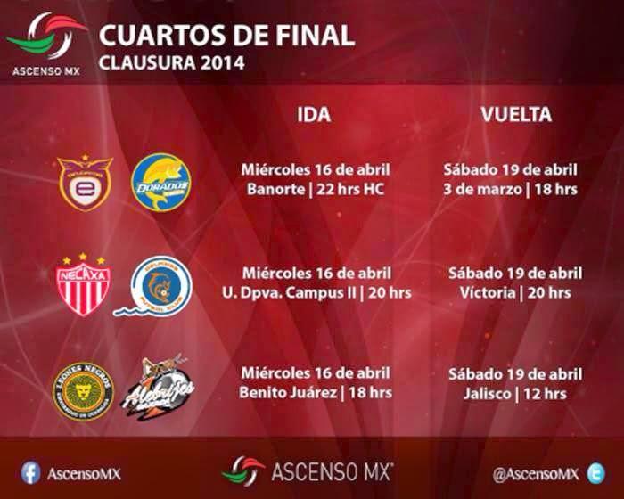 Cuartos de Final Ascenso MX 2014