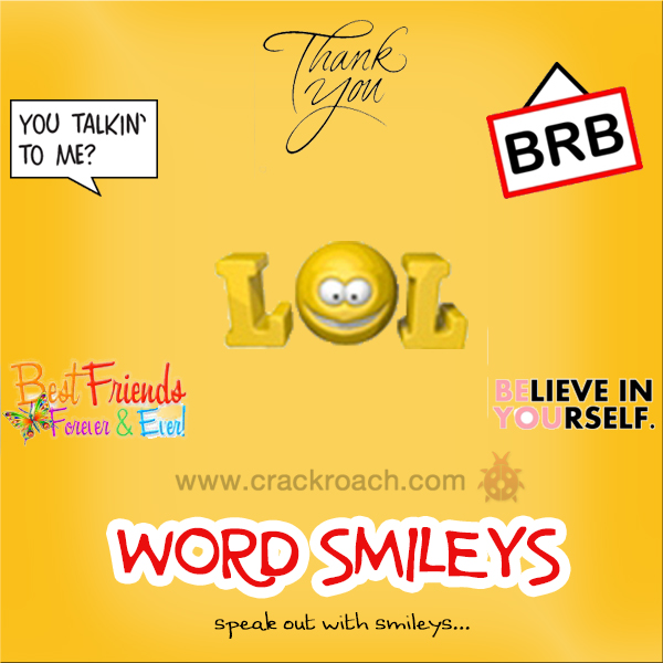 Largest Collection of Facebook Chat codes for Latest Smileys & Emoticons word crackroach