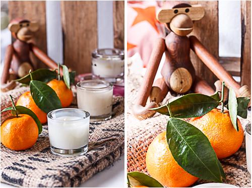 Amalie loves Denmark DIY Duftkerzen mit Mandarinenöl