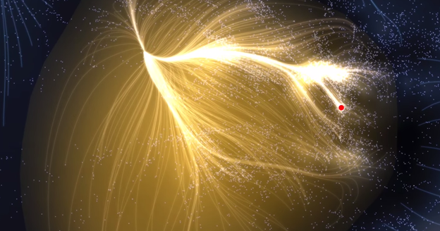 Scientists Mapped 8000 Galaxies (Out Of Billions) Made An Amazing Discovery