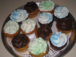 Peanut Butter Surprise Cupcakes!