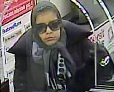 Seorang wanita  rompak dua bank  di Washington D.C.