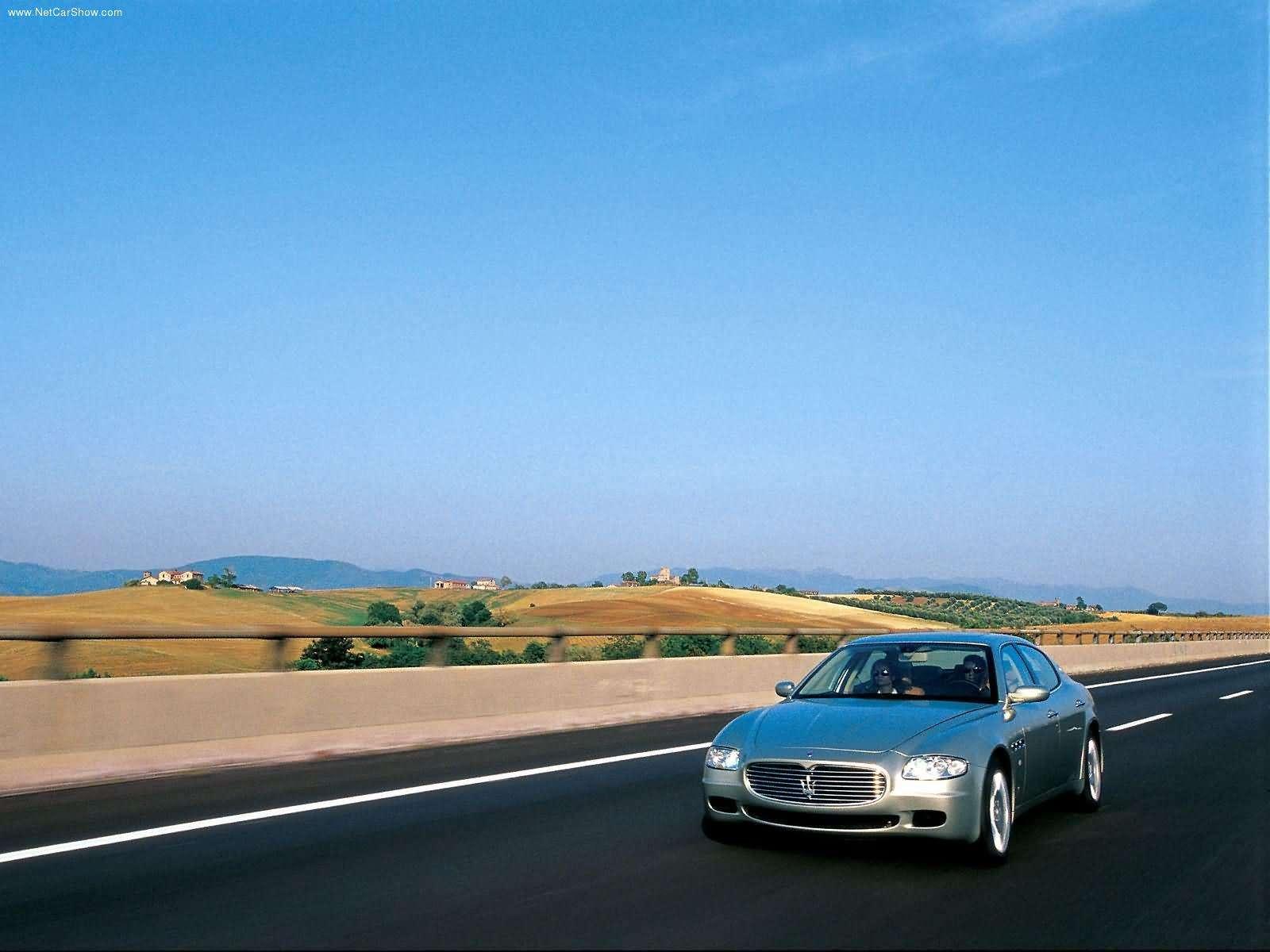 Hình ảnh siêu xe Maserati Quattroporte 2004 & nội ngoại thất