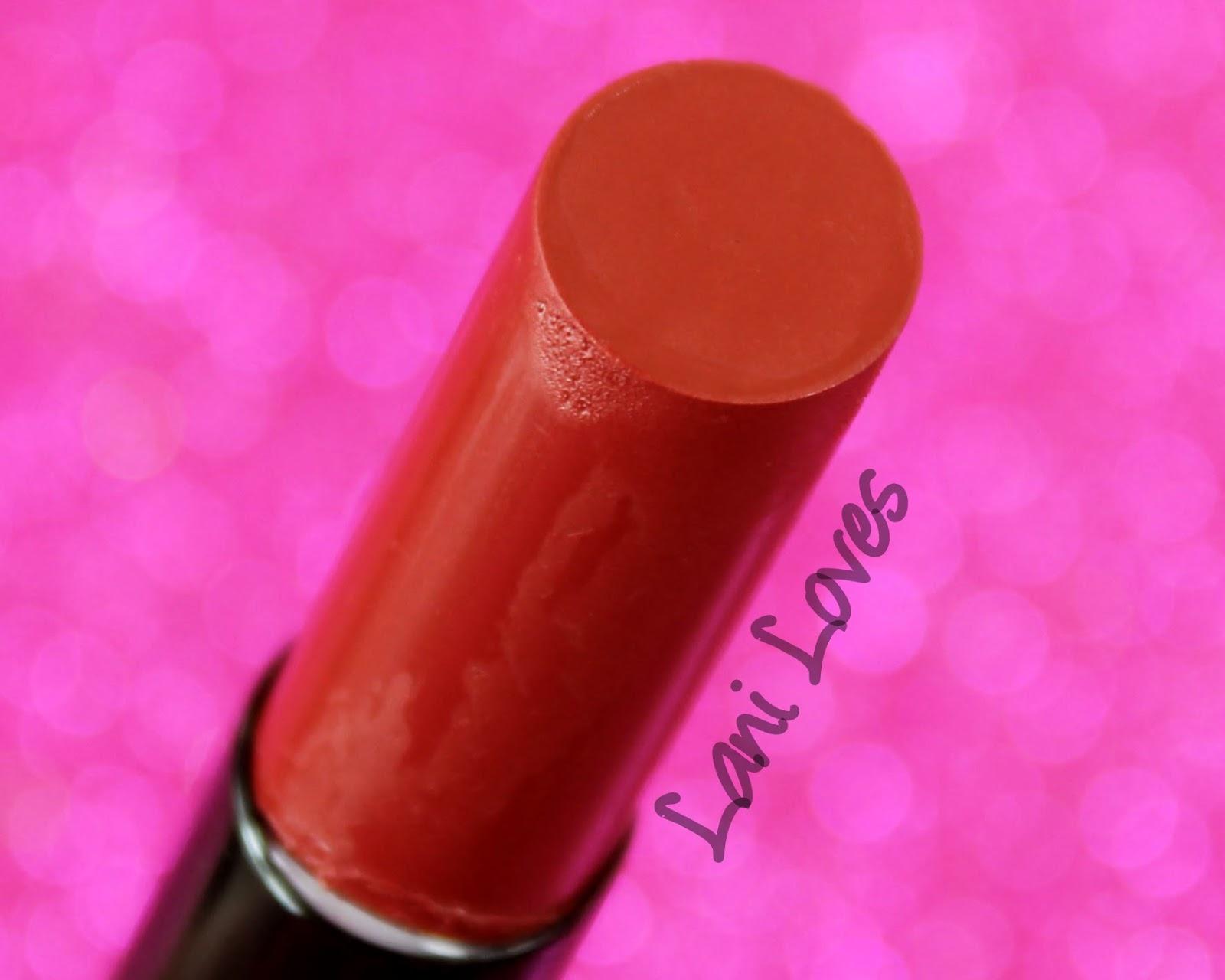 ZA Vibrant Moist Lipstick - RD555 swatches & review