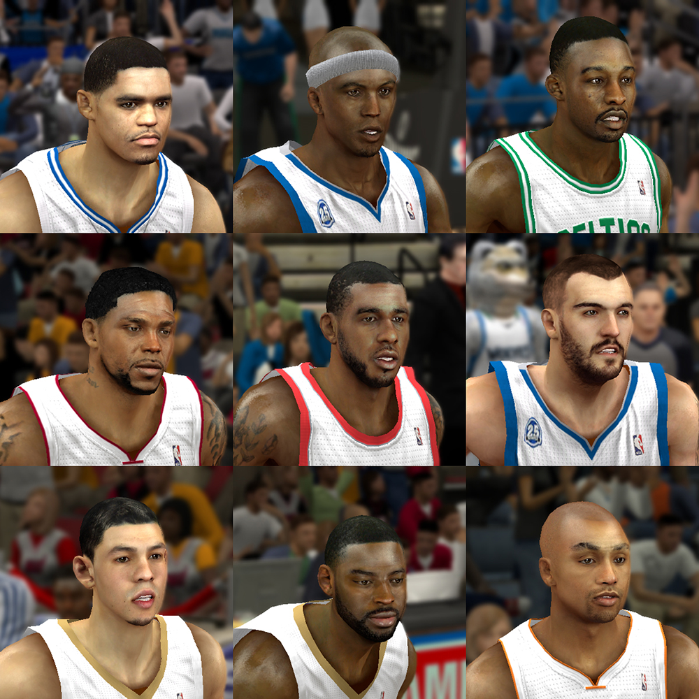 NBA 2K14 Mod Face Update Pack #2