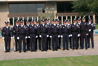 The Richardson Police Department Honor Guard.
