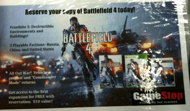 cartaz game Battlefield 4