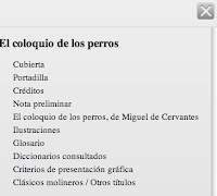 Secciones del epub