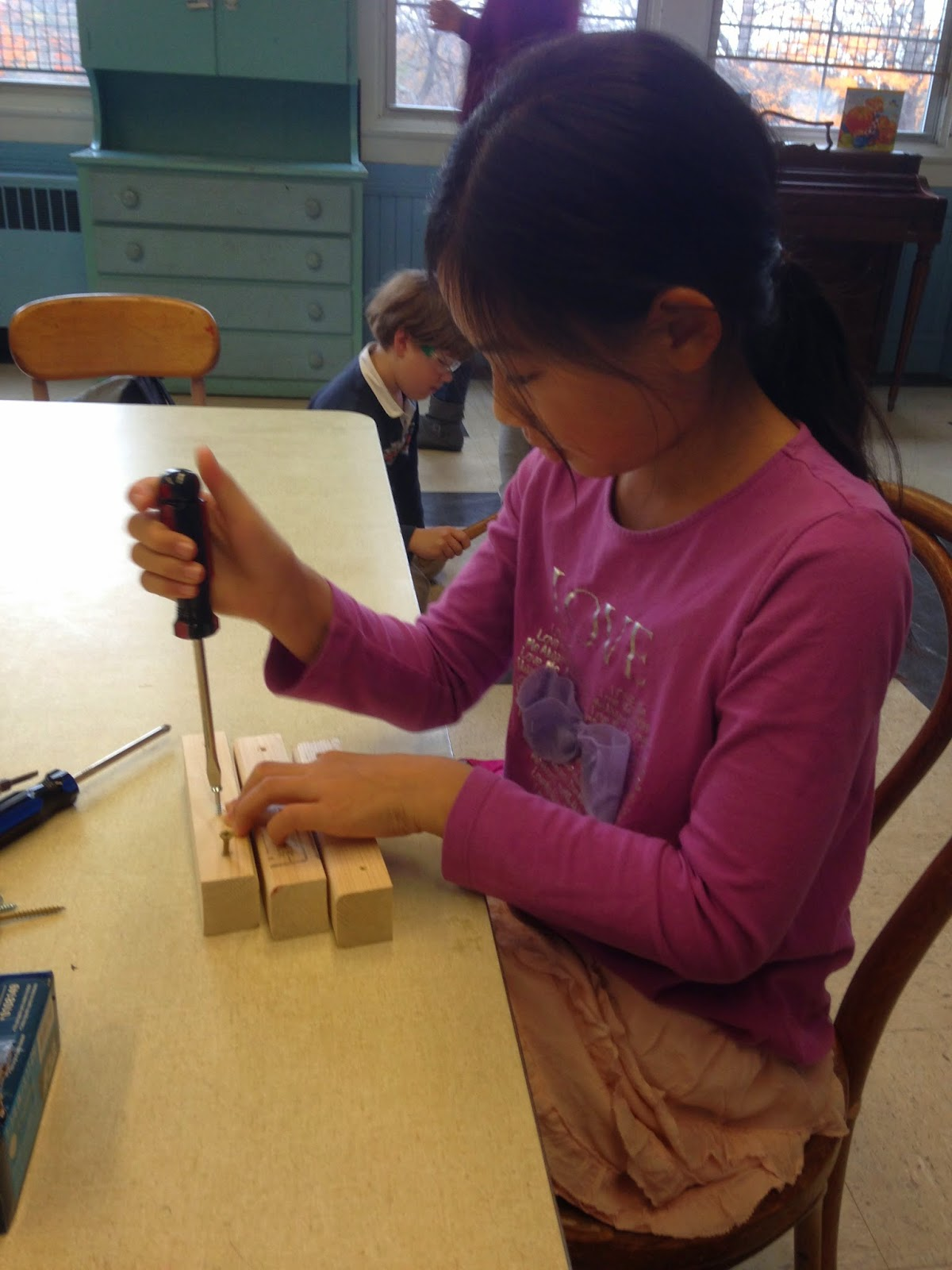 Teaching Kids To Use Tools Homeschool Adventures In Engineering Handson Squishy Circuit Electricity For Circuits We Had An Extremely Rough Piece Of Wood At The Sanding Station By End Class There Was A Nice Coating Saw Dust On Table From All Their Elbow