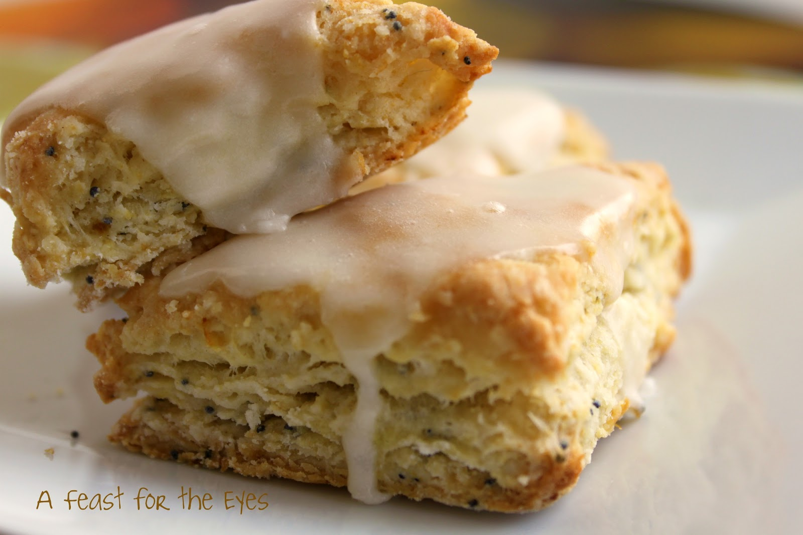 Gluten And Sugar-Free Lemon And Poppy Seed Scones Recipe — Dishmaps