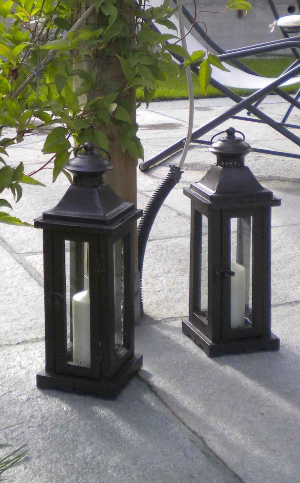 Work in progress lanterne da giardino - Lanterne da giardino ikea ...