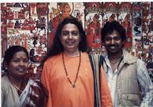 Manju Das, Purna Das and Babu @ UCLA 80's