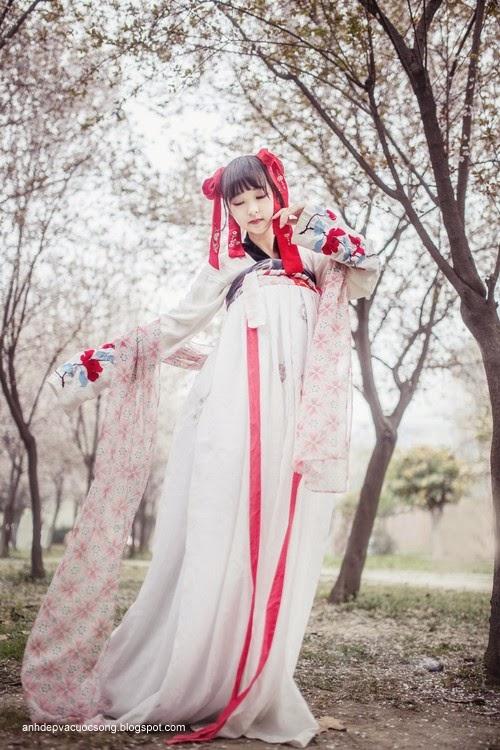 Thiếu nữ Hàn Quốc xinh đẹp với mùa xuân 6