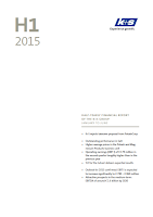 K+S, Q2, 2015, front page