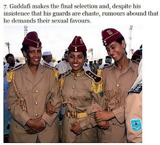 muammar algaddafi female bodyguards 07 Foto foto 40 Perawan Pengawal Pribadi Muammar Qadhafi