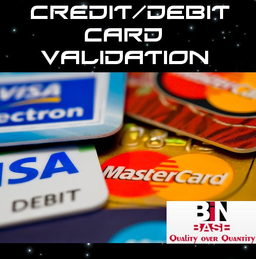 Check credit card working validity
