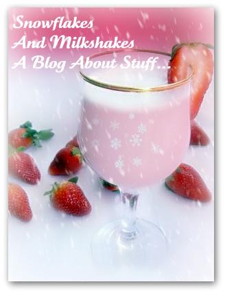 Snowflakes and milkshakes