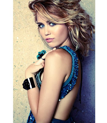 Miley Cyrus - Marie Claire September 2012 issue