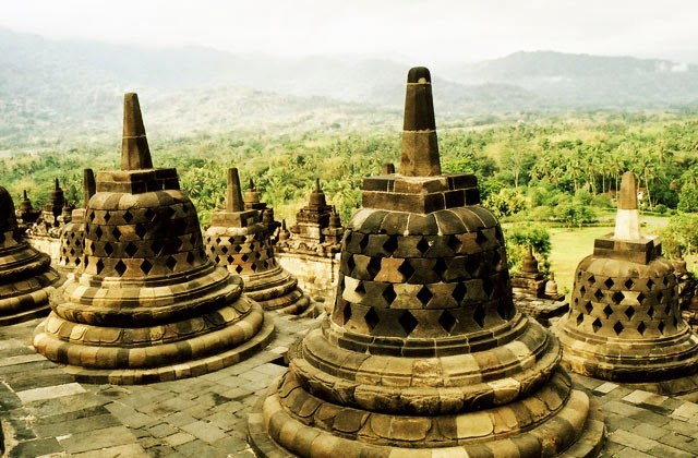 Stupa di Candi Borobudur