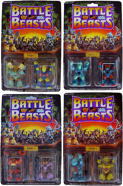 Hasbro's Battle Beasts Carded Figures