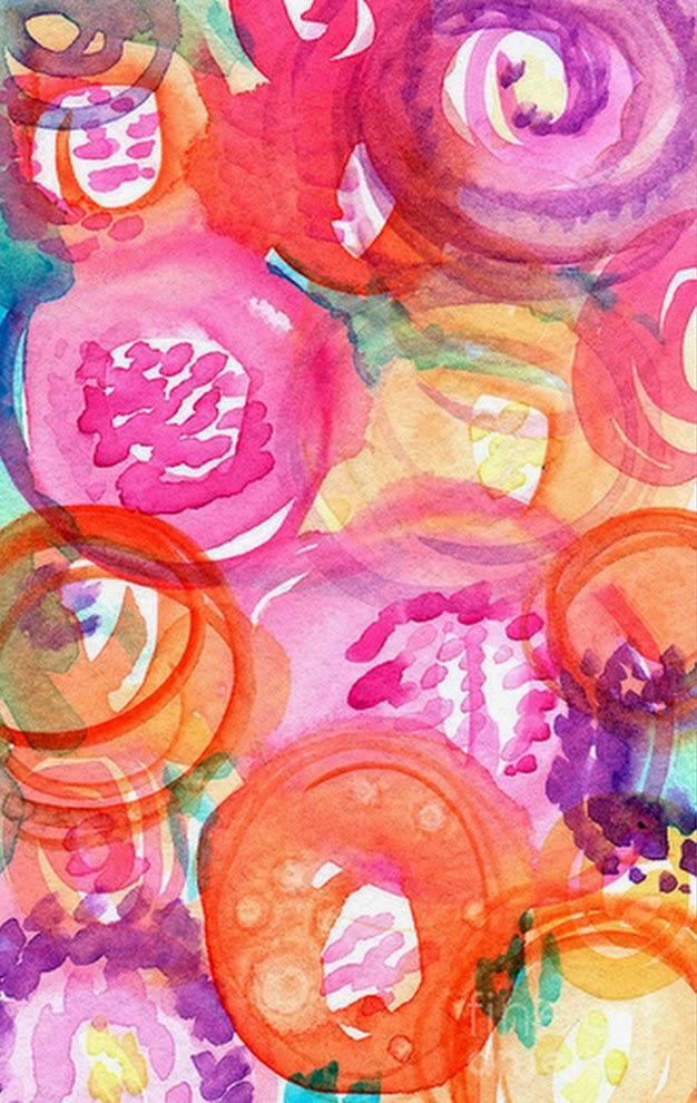 Pintura moderna y fotograf a art stica dise os de flores - Cuadros modernos faciles de pintar ...