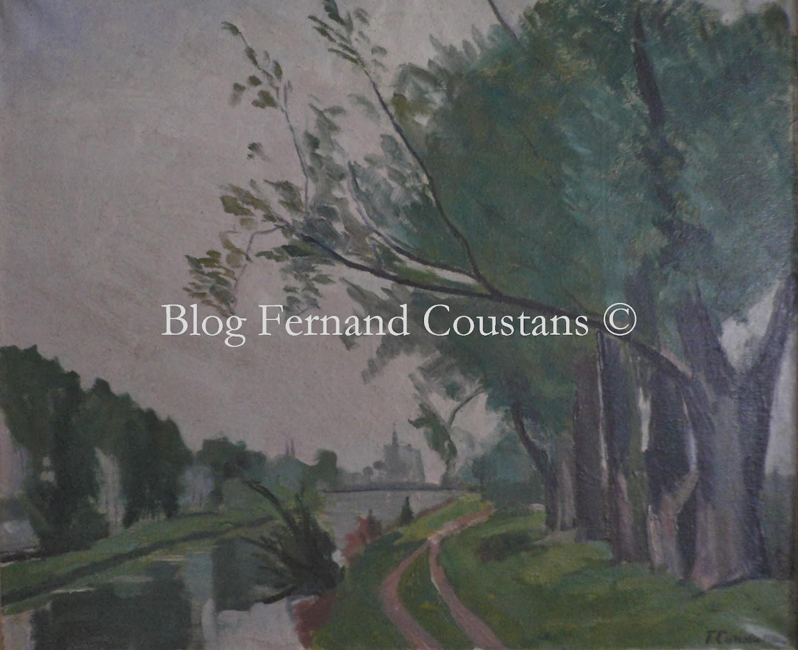 Fernand Coustans (1878-1975), artiste peintre, conteur et publiciste ...