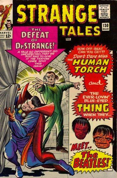 Strange Tales #130, Dr Strange vs Baron Mordo