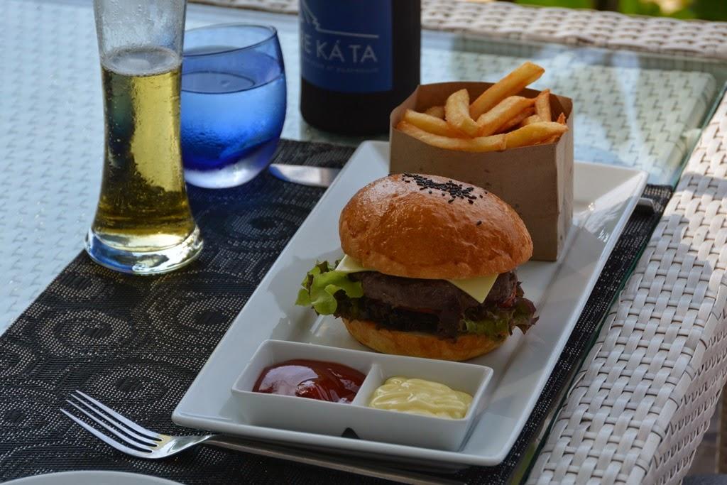 Re Ka Ta restaurant Phuket Burger
