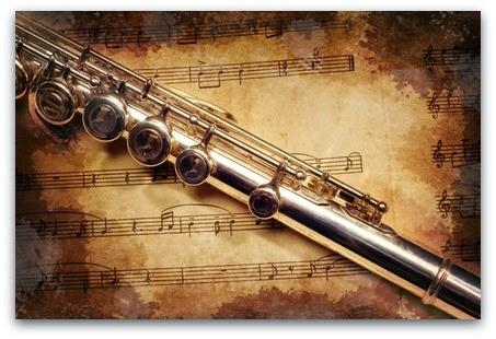 image a flute