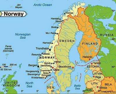 Norveç Harita