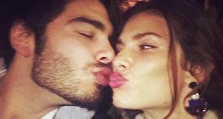 foto bacio stefano sala e dayane mello